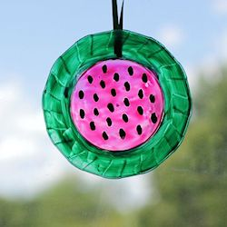 Watermelon Sun Catcher