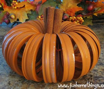 Canning Lid Pumpkin