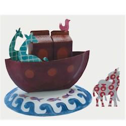 Paper Plate Noah's Ark