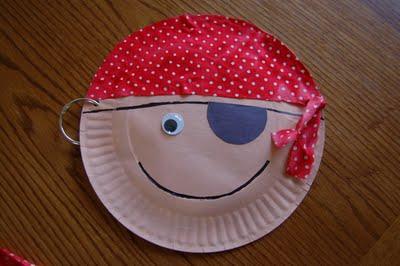 Paper Plate Pirates Fun Family Crafts