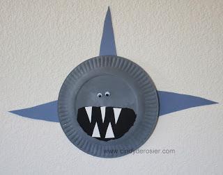 Paper Plate Shark