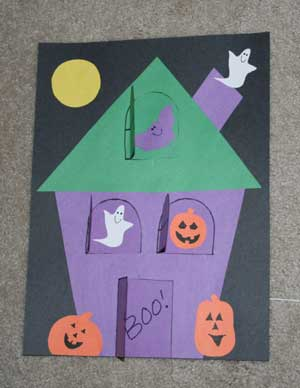 Lift-the-Flap Haunted House