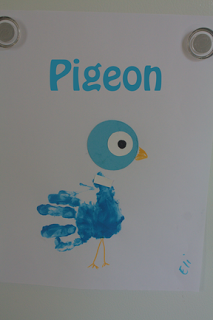 Handprint Pigeons