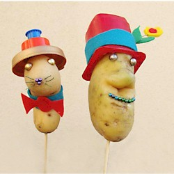 Mr. and Mrs. Potato Head Craft