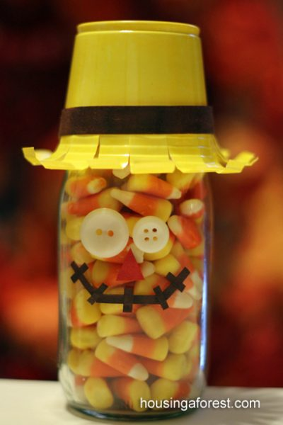 Candy Corn Scarecrow