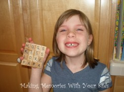 Scrabble Tile Coaster