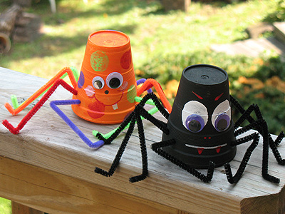Paper Cup Spider Fun Family Crafts