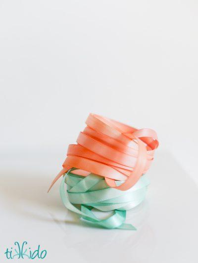 Watercolor Painted Ribbon
