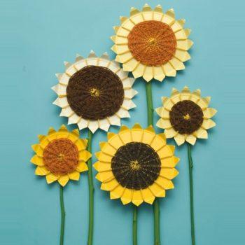 Woven Sunflowers