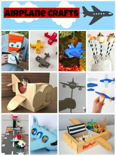Airplane Crafts For Kids Fun Family Crafts