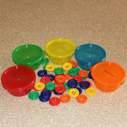 Button Sorting Cups