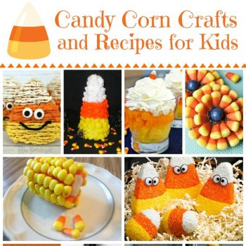 Candy Corn Crafts and Recipes