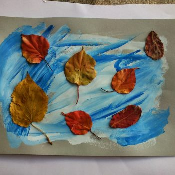 Fall Leaves Collage