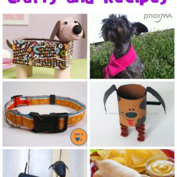 Dog Crafts and Recipes
