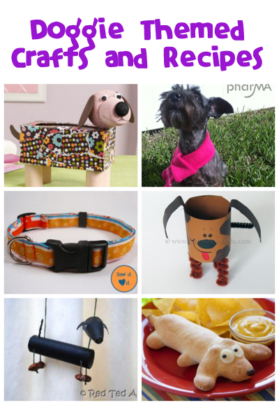 Dog Crafts and Recipes - Fun Family Crafts