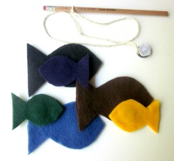 Felt Fishing Game