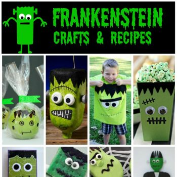Frankenstein Crafts and Recipes