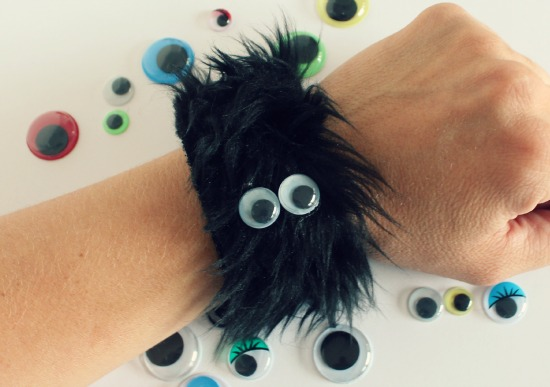 Furry Monster Bracelet