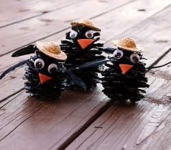 Pinecone Black Crows