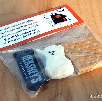 Halloween S'mores Treat