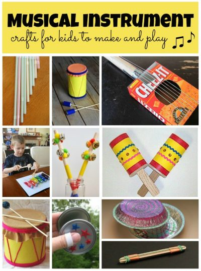 Musical Instrument Crafts Fun Family Crafts