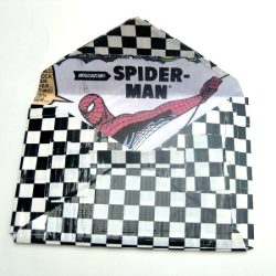 Superhero Duck Tape Envelope