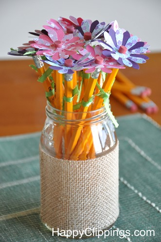 Pencil Flowers | Fun Family Crafts