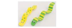 Craft Foam Worm