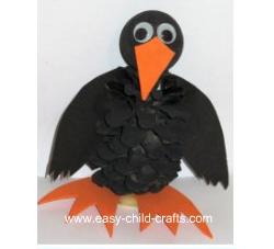 Pinecone Crow