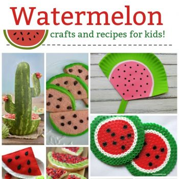 Watermelon Crafts and Recipes