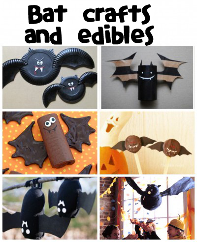 Bat Crafts & Recipes - Fun Family Crafts