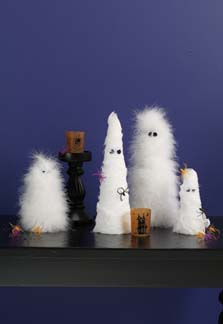 Ghostly Centerpieces
