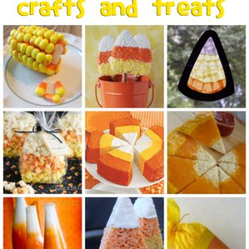 Candy Corn Crafts & Recipes