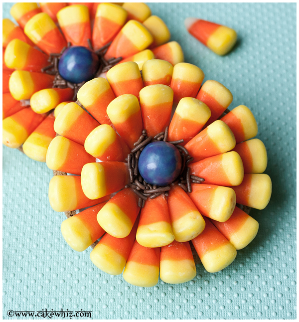 Candy Corn Flower Cookies Fun Family Crafts
