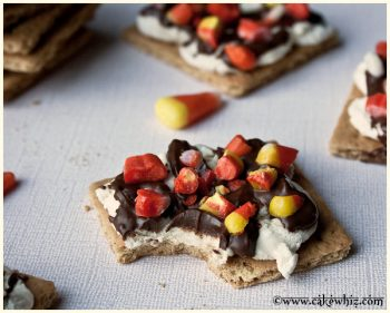 Candy Corn S'mores