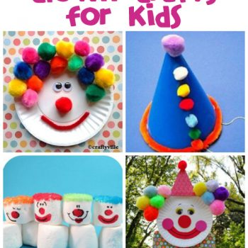 Clown Crafts, Printables & Recipes