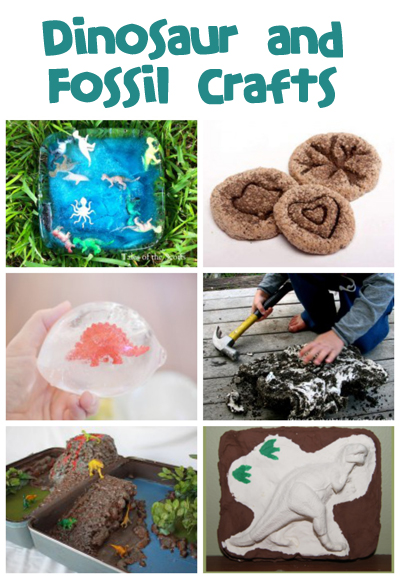 Dinosaur And Fossil Crafts And Activities Fun Family Crafts