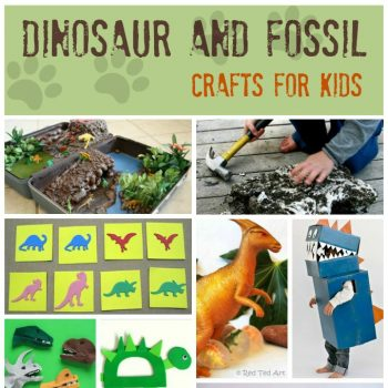 Dinosaur and Fossil Crafts and Activities