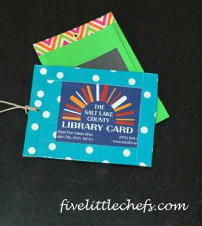 Library Card Holder