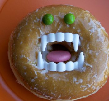 Halloween Donut Treat