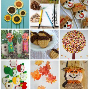 Fall Crafts & Recipes - Fun Family Crafts