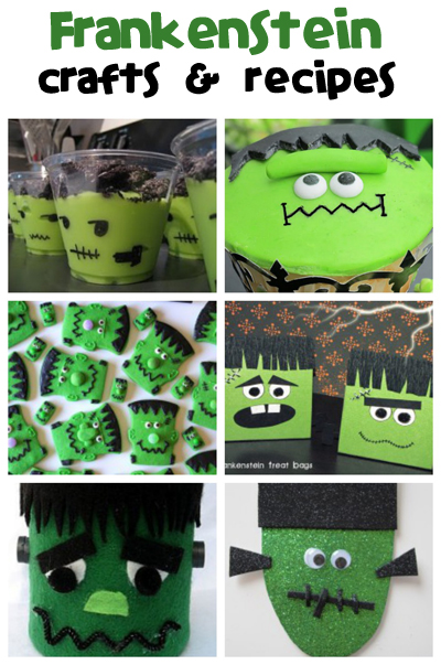 Frankenstein Crafts & Recipes - Fun Family Crafts
