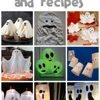 Ghost Crafts & Recipes