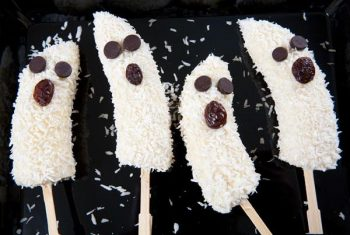 Healthy Ghost Pops