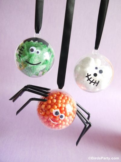 Little Monster Candy Baubles
