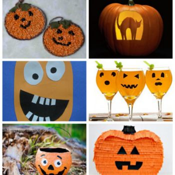 Jack o'Lantern Crafts, Recipes & Carving Templates