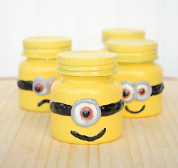 Minion Goodie Jars