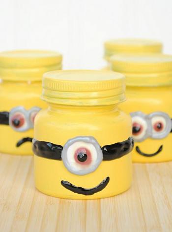 Minion Goodie Jars