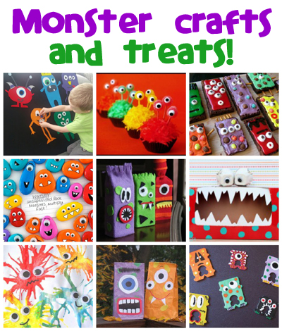 Monster Crafts Amp Recipes Fun Family Crafts
