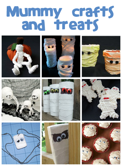 Mummy Crafts & Recipes - Fun Family Crafts